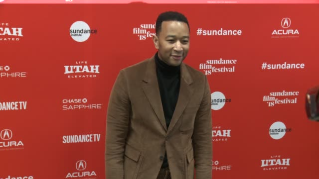 John Legend at the 'Monster' World Premiere 2018 Sundance Film Festival at Eccles Center Theatre on January 22 2018 in Park City Utah