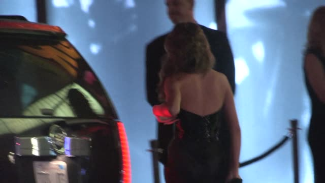 john legend & christine teigen arrive at the 2014 vanity fair oscar party in west hollywood in celebrity sightings in los angeles, 03/02/14 - vanity fair oscar party stock videos & royalty-free footage
