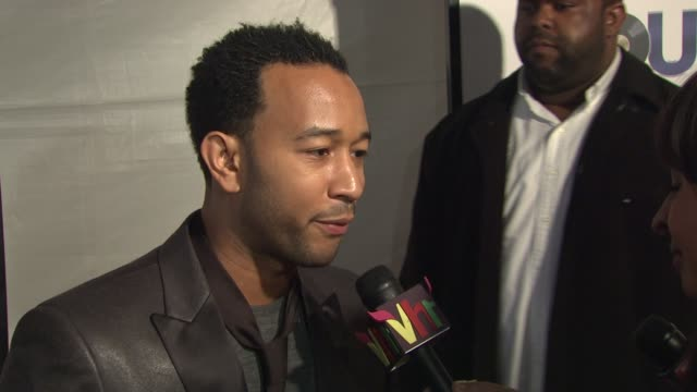 john legend on making his acting debut what it was like to work with sam jackson and bernie mac and shows some of the dance moves we will see in the... - jennifer hudson stock videos & royalty-free footage