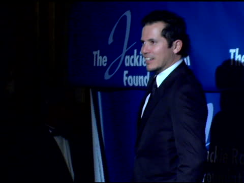 john leguizamo at the the 2007 annual jackie robinson awards dinner at the waldorf astoria hotel in new york, new york on march 5, 2007. - waldorf astoria new york stock videos & royalty-free footage