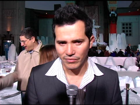 john leguizamo on his character in the movie, global warming and his dramedy pilot he is working on at the 20th century fox's 'ice age: the meltdown'... - 20th century fox stock videos & royalty-free footage