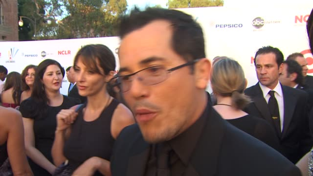 john leguizamo on the importance of the alma awards at the 2009 alma awards at westwood los angeles ca - alma awards stock videos and b-roll footage