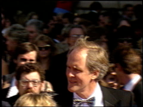 john lithgow at the 1986 emmy awards at the pasadena civic auditorium in pasadena california on september 21 1986 - pasadena civic auditorium stock videos & royalty-free footage