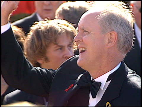 john lithgow at the 2000 emmy awards at the shrine auditorium in los angeles, california on september 10, 2000. - shrine auditorium stock videos & royalty-free footage