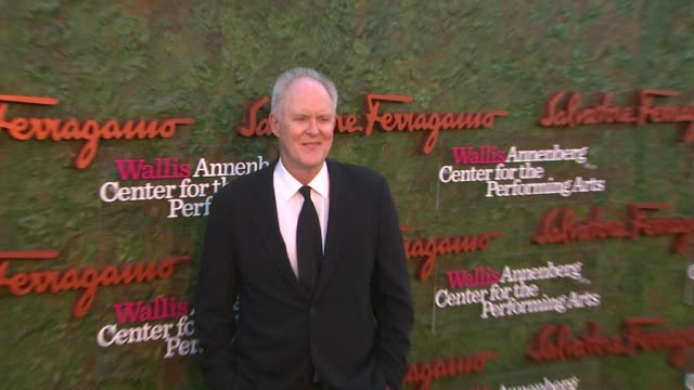 john lithgow at wallis annenberg center for the performing arts inaugural gala presented by salvatore ferragamo on 8/17/13 in los angeles, ca . - salvatore ferragamo stock videos & royalty-free footage