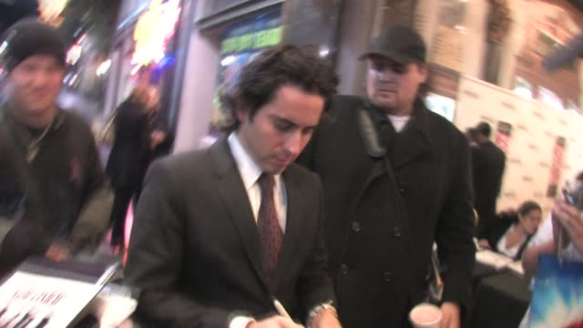 john lloyd young at pantages theatre in hollywood at the celebrity sightings in los angeles at los angeles ca. - パンテージスシアター点の映像素材/bロール