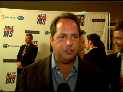 john lovitz on his involvement with nancy and the event for many years, all the money she has raised, how the event began at the 13th annual race to... - 12 13 years stock videos & royalty-free footage