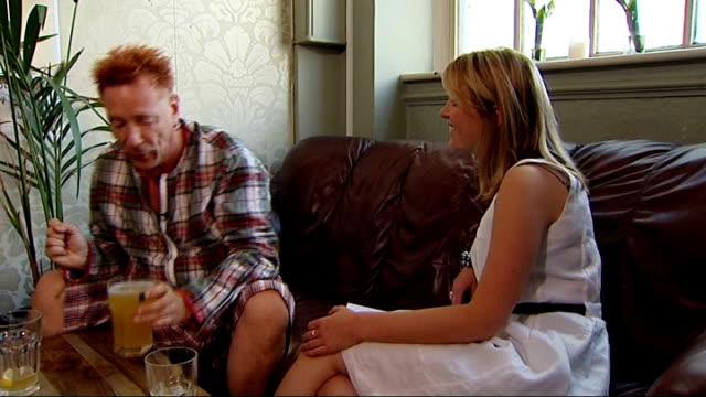 John Lydon interview I do miss the good old football hooligans Don't like the beaurocracy/ let people police themselves Police still out to scupper...