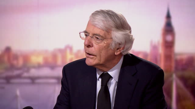 john major saying he believes the royal family is evolving - queen royal person stock videos & royalty-free footage