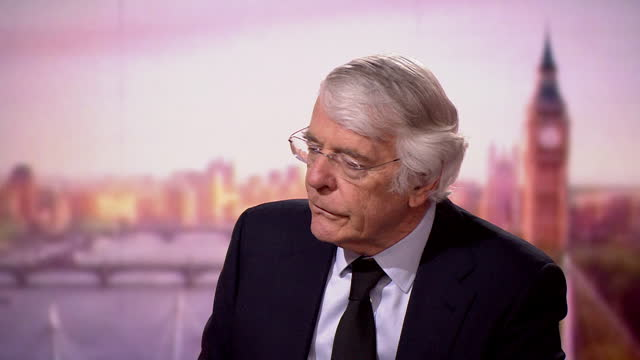 john major saying he expects queen elizabeth ii to return to work but should be allowed time to grieve for prince philip - queen royal person stock videos & royalty-free footage