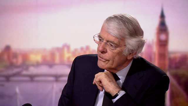 """john major saying how he would address the nation if he were still prime minister after the death of prince philip - """"bbc news"""" stock videos & royalty-free footage"""