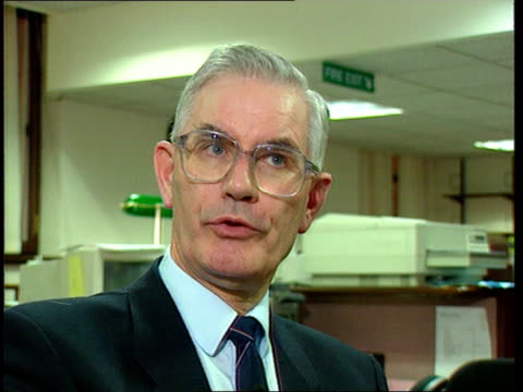irish peace talks itn ireland belfast cms william ross mp intvw sot no / we live in ni/ we know what words mean to people who live in ni and to ira... - will.i.am stock videos and b-roll footage