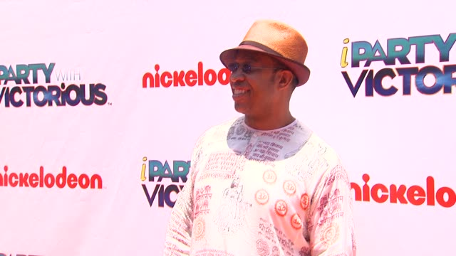 John Marshall at the Nickelodeon's 'iParty With Victorious' Premiere at West Hollywood CA
