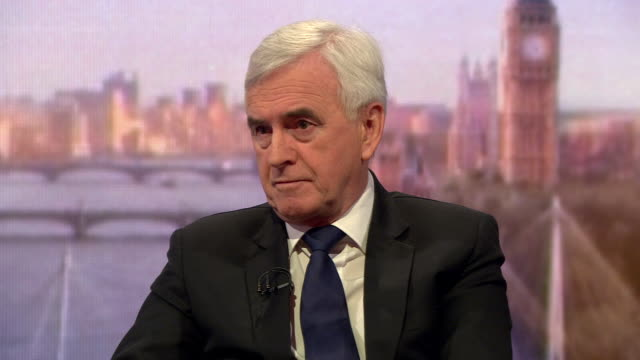 John McDonnell giving his thoughts on the Shamima Begum case