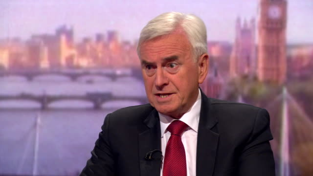 john mcdonnell saying boris johnson is prepared to break the law to get a no deal brexit and no one can trust what will happen while he is in charge - john mcdonnell politician videos stock videos & royalty-free footage