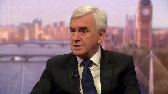 John McDonnell saying he did not give Luciana Berger a 'loyalty threat'
