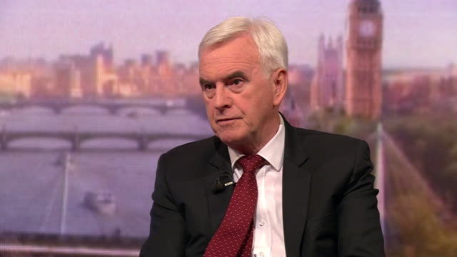 john mcdonnell saying if climate change is not acted upon this generation would have failed the next - john mcdonnell politician videos stock videos & royalty-free footage