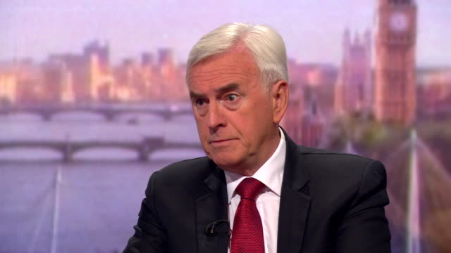 john mcdonnell saying if they went for a general election now boris johnson would retain in his hands the timing of that election - john mcdonnell politician videos stock videos & royalty-free footage
