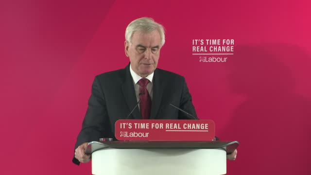 john mcdonnell saying our agenda is radical because people are demanding radical change - john mcdonnell politician videos stock videos & royalty-free footage