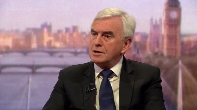 John McDonnell saying the Labour Party were 'not fast enough' in dealing with antisemitism previously
