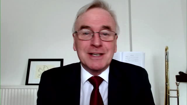 """john mcdonnell saying the sacking of angela rayner as labour party chairwoman is """"a huge mistake"""" - former stock videos & royalty-free footage"""