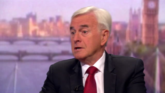 john mcdonnell saying there would have to be a proper mandate for a second scottish independence referendum - john mcdonnell politician videos stock videos & royalty-free footage