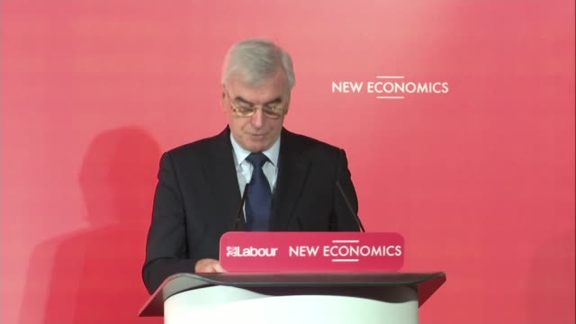 John McDonnell speech John McDonnell MP speech SOT Thanks for coming/ What an extraordinary year thanks to you and other supporters / Our movement...