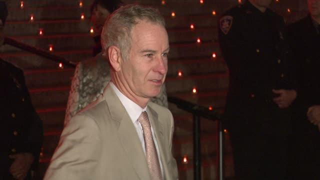 John McEnroe at the 8th Annual Tribeca Film Festival Vanity Fair Party at New York NY