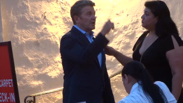 john michael higgins arrives at the opening night of little shop of horrors at pasadena playhouse in pasadena in celebrity sightings in los angeles on - pasadena playhouse stock videos & royalty-free footage