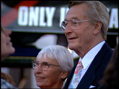 John Neville at the Premiere of 'The X Files Fight the Future' on June 11 1998