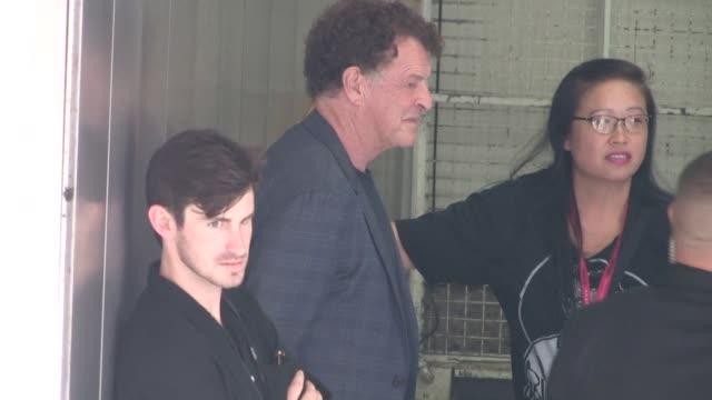 John Noble Antony Starr enter the 2014 Comic Con Panel in San Diego in Celebrity Sightings in San Diego