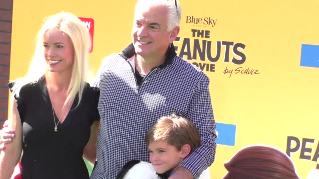John O'Hurley at The Peanuts Movie Premiere at Regency Village Theatre in Westwood on November 01 2015 in Los Angeles California