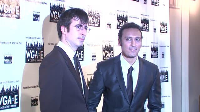 John Oliver and Aasif Mandvi at the 61st Annual Writers Guild Awards NY at New York NY