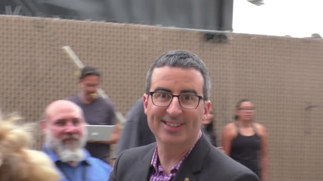 john oliver arriving to jimmy kimmel live celebrity sightings on september 19 2016 in los angeles california - jimmy kimmel stock videos and b-roll footage