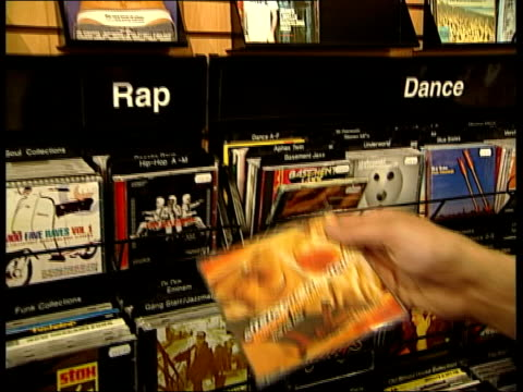 chart success itn england london otway looking at cds in record shop cs copy of otway's 'bunsen burner' lifted from shelf john otway interviewed sot... - bunsen burner stock videos & royalty-free footage