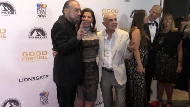 john paul dejoria & robert shapiro at the 'good fortune' premiere on june 29, 2017 in beverly hills, california. - john fortune stock videos & royalty-free footage