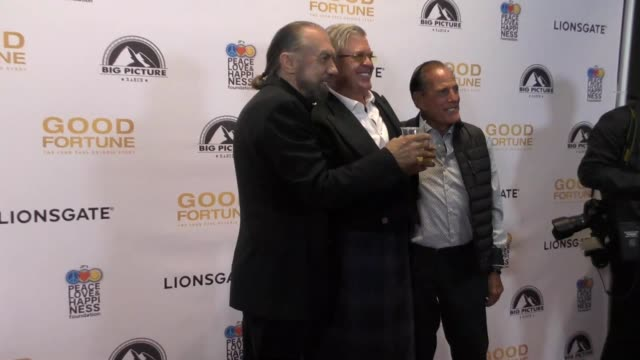 john paul dejoria, ron white & ron popeil at the 'good fortune' premiere on june 29, 2017 in beverly hills, california. - john fortune stock videos & royalty-free footage