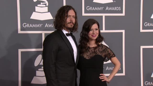 John Paul White Joy Williams at 54th Annual GRAMMY Awards Arrivals on 2/12/12 in Los Angeles CA