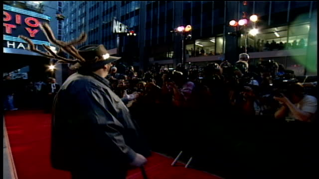 john popper on the 1997 mtv video music awards red carpet - mtv video music awards stock videos & royalty-free footage