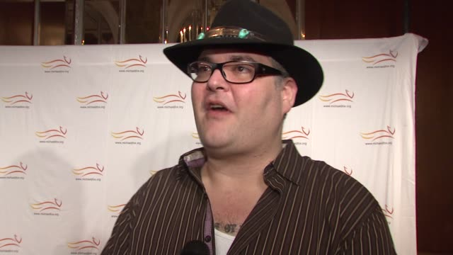 John Popper talking about looking forward to jamming with Elvis Costello and Michael J Fox at the 'A Funny Thing Happened On The Way To Cure...