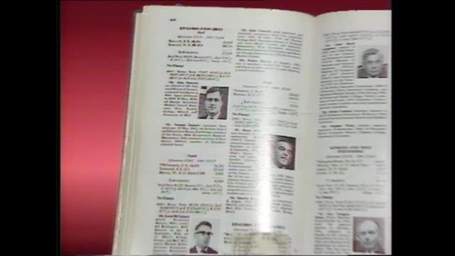 england london itn prescott's first entry in dod's - john prescott politiker stock-videos und b-roll-filmmaterial