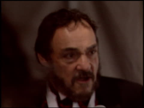 john rhys davies at the night of 100 stars oscar gala at the beverly hilton in beverly hills california on february 29 2004 - 76th annual academy awards stock videos & royalty-free footage