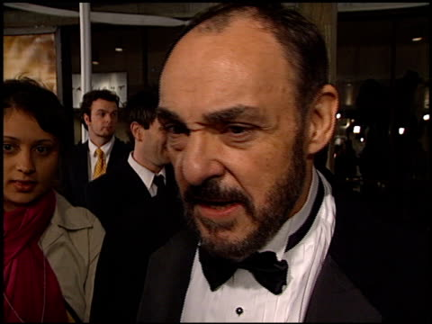 john rhys-davies at the premiere of 'the lord of the rings: the two towers' at the cinerama dome at arclight cinemas in hollywood, california on... - アークライトシネマ点の映像素材/bロール