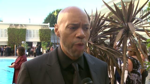 interview john ridley on what this award season has been like for him at the 86th academy awards nominee luncheon interviews at the beverly hilton... - season 10 stock videos & royalty-free footage