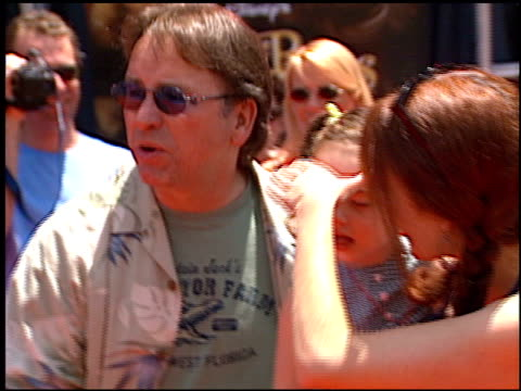 john ritter at the premiere of 'the country bears' at the el capitan theatre in hollywood california on july 21 2002 - el capitan theatre stock videos & royalty-free footage
