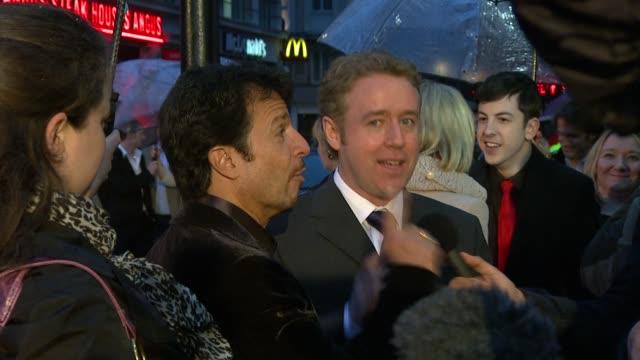 john romita jr and mark millar at the kickass uk premiere at london england - kick ass film title stock videos & royalty-free footage