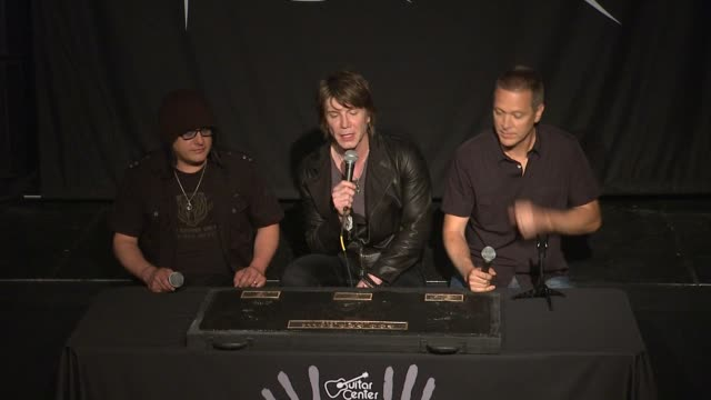 INTERVIEW John Rzeznik Mike Malinin and Robby Takac on how their sound has changed over the years at Goo Goo Dolls Inducted Into Guitar Center's...
