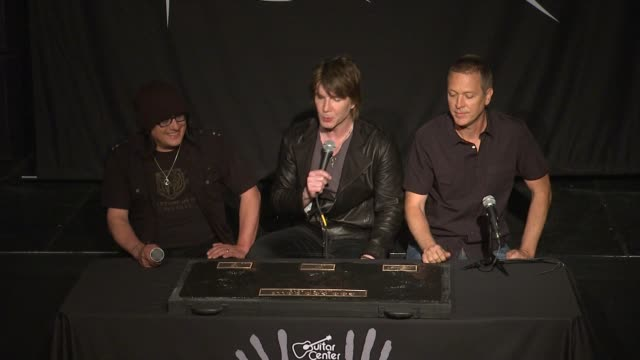 INTERVIEW John Rzeznik Mike Malinin and Robby Takac on the highlights of their career at Goo Goo Dolls Inducted Into Guitar Center's Historic...