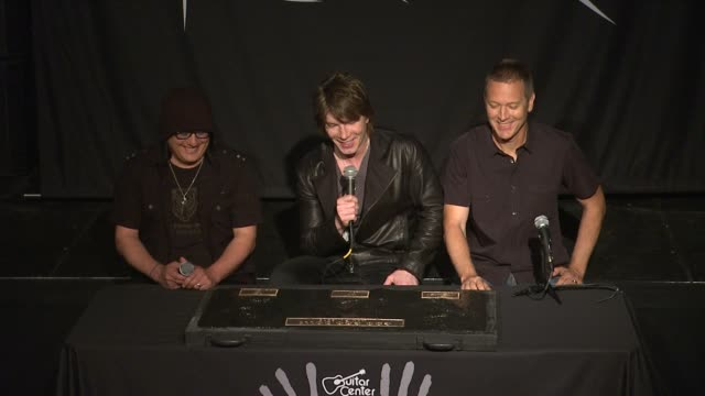INTERVIEW John Rzeznik Mike Malinin and Robby Takac on what it takes to impress them as songwriters at Goo Goo Dolls Inducted Into Guitar Center's...