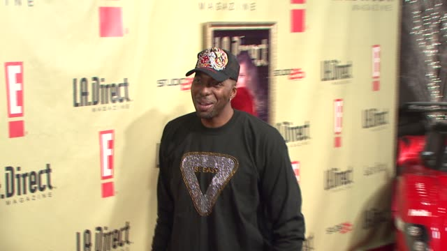 John Salley at the LA Direct Magazine's Holiday Party at Les Deux in Los Angeles California on December 14 2007